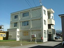 北海道北斗市追分2丁目の賃貸アパートの外観