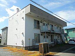 北海道北斗市飯生1丁目の賃貸アパートの外観