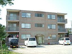 北海道亀田郡七飯町大中山2丁目の賃貸マンションの外観