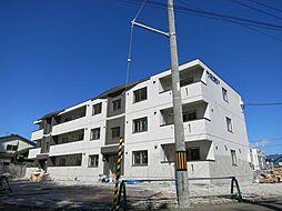 北海道函館市追分町の賃貸マンションの外観