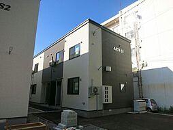 北海道函館市旭町の賃貸アパートの外観