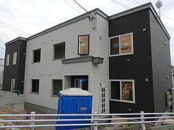 北海道函館市湯川町2丁目の賃貸アパートの外観