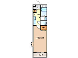 インターメゾン河芸[3階]の間取り