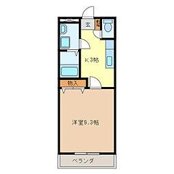 津駅 3.3万円