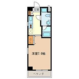 エイムオーエス島崎町マンション[201号室]の間取り