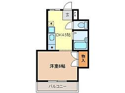 メゾンド雅[2階]の間取り