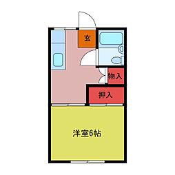 武州長瀬駅 1.6万円