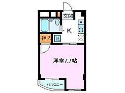 三島若文ビル[309号室]の間取り