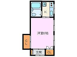 [一戸建] 静岡県三島市東本町2丁目 の賃貸【/】の間取り