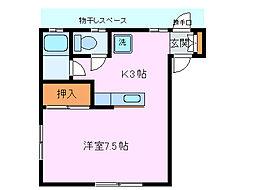 アート館タイヨー[1階]の間取り