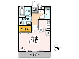 ジュネス[2階]の間取り