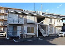 タウニー山田D[2階]の外観