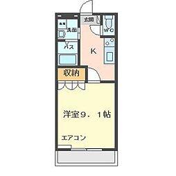 メゾン鈴木[1階]の間取り