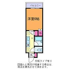 メゾン・ド・リエス[1階]の間取り