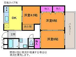 第三鐙ビル[3階]の間取り