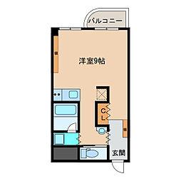 エスタシオン犬山[806号室]の間取り