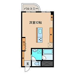 エスタシオン犬山[809号室]の間取り