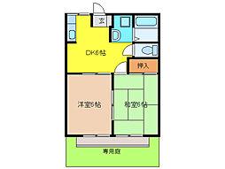 アットホーム小川[1階]の間取り