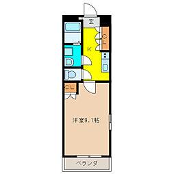 エスポアール クレア[2階]の間取り