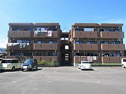 ピースフルマンションB棟[2階]の外観