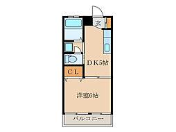 Fビル[4階]の間取り