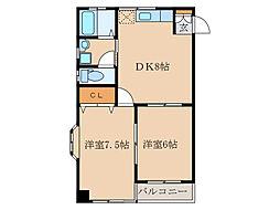 Fビル[2階]の間取り