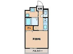 マンションブリランテ[2階]の間取り