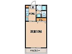 札元大丸マンション[303号室]の間取り