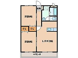 SODAビル[2階]の間取り