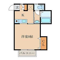 サンハイツ寿IV[1階]の間取り