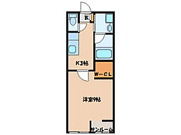 カサラティーダ[2階]の間取り