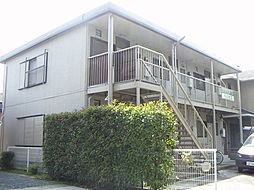 静岡県浜松市中区向宿3丁目の賃貸アパートの外観