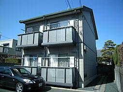 静岡県浜松市中区鴨江3丁目の賃貸アパートの外観