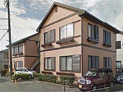 静岡県浜松市中区蜆塚3丁目の賃貸アパートの外観