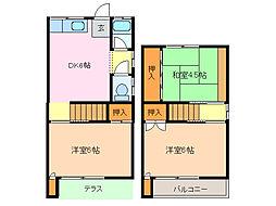 [一戸建] 愛知県名古屋市緑区平子が丘 の賃貸【/】の間取り