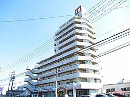 ユーハウス左京山[6階]の外観
