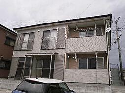 鹿児島県姶良市加治木町木田の賃貸アパートの外観