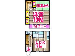 [一戸建] 鹿児島県姶良市東餅田 の賃貸【/】の間取り