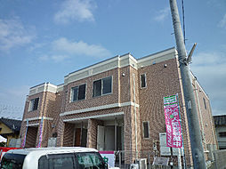 鹿児島県姶良市西餅田の賃貸アパートの外観