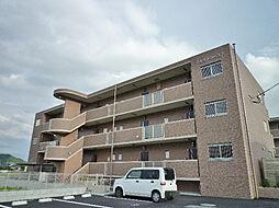 鹿児島県姶良市加治木町木田の賃貸マンションの外観