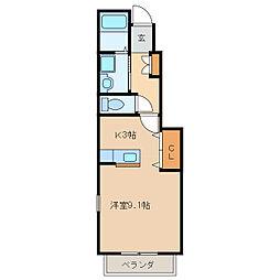 セントレア[1階]の間取り