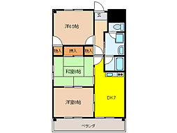 VIVRE 21[4階]の間取り