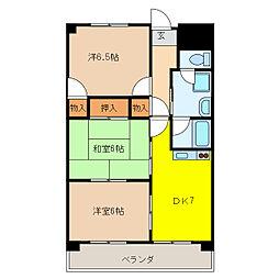 VIVRE 21[3階]の間取り