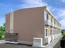 レオパレスイルミナA[2階]の外観