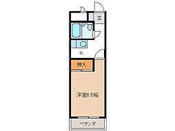 岐阜キャッスル[10階]の間取り