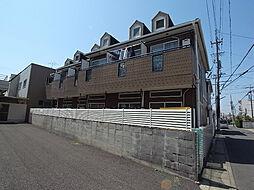 ハイツ鍵屋西町 西棟[1階]の外観