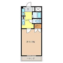 インプレス錦[2階]の間取り
