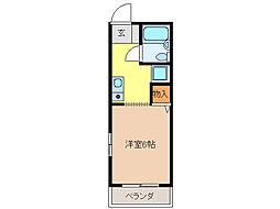 エル鏡島[1階]の間取り