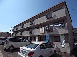 柿沢ハイツA[1階]の外観