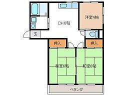 メゾン新栄I[3階]の間取り